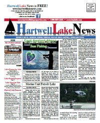 Hartwell Lake News Spring 2014