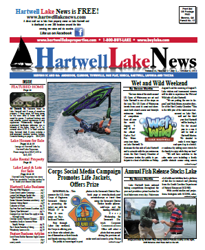 Hartwell Lake News Summer 2014