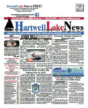 Hartwell Lake News Summer 2015